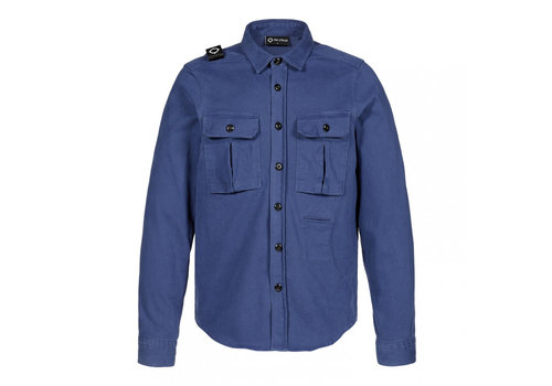 MA.STRUM MA.STRUM two pocket overshirt Dark Indigo