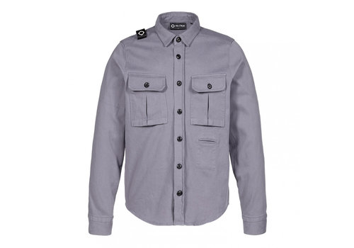 MA.STRUM MA.STRUM two pocket overshirt Elephant Grey