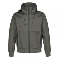 MA.STRUM velo hooded softshell Dark Khaki Green