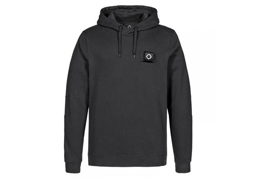 MA.STRUM MA.STRUM overhead training hoody Jet Black