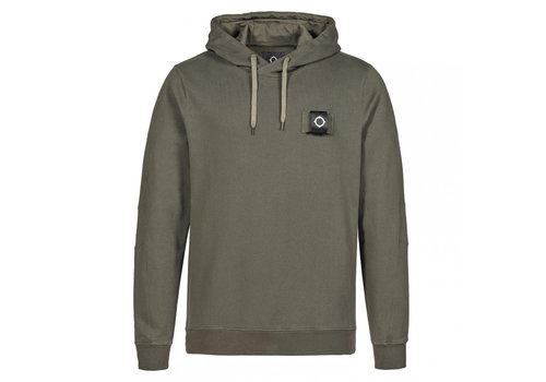 MA.STRUM MA.STRUM overhead training hoody Dark Khaki Green