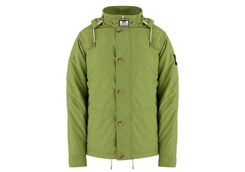Weekend Offender Weekend Offender Naz hooded padded jacket Nettle