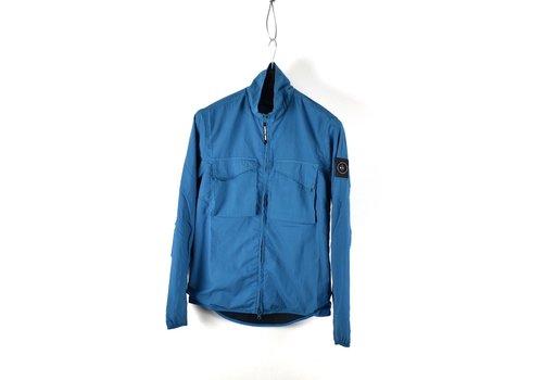 Marshall Artist Marshall Artist garment dyed parachute overshirt Aqua