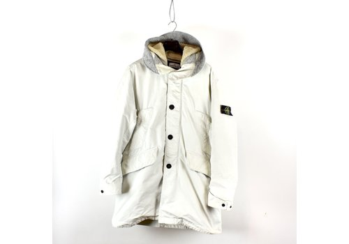 Stone Island Stone Island white david-tc down parka XL