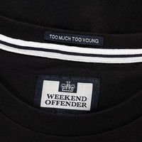 Weekend Offender City Series 3.0 Casuals Amsterdam t-shirt Black
