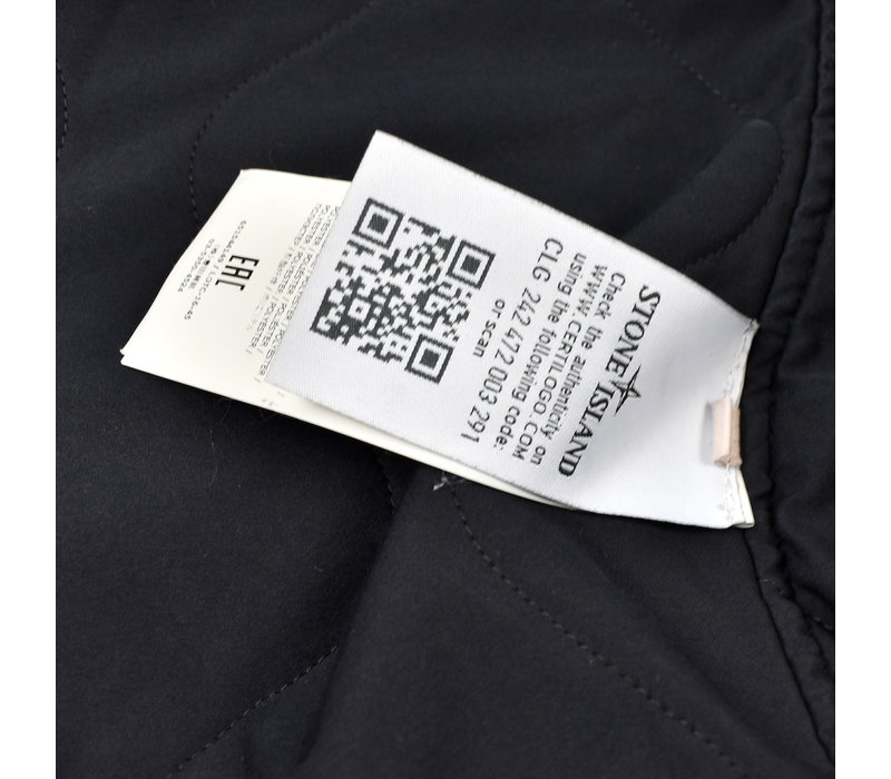 Stone Island navy david-tc field jacket XXL