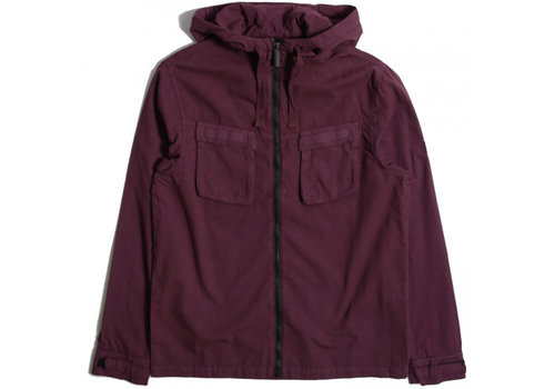 Peaceful Production Peaceful Production hood overshirt Zinfandel