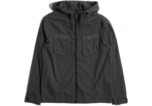 Peaceful Production Peaceful Production hood overshirt Black