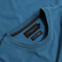 Peaceful Production long sleeve t-shirt Aqua