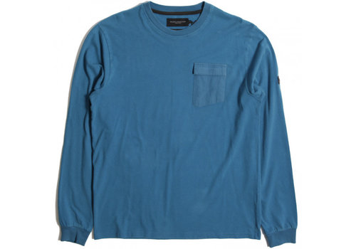 Peaceful Production Peaceful Production long sleeve t-shirt Aqua