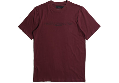 Peaceful Production Peaceful Production fix logo t-shirt Zinfandel