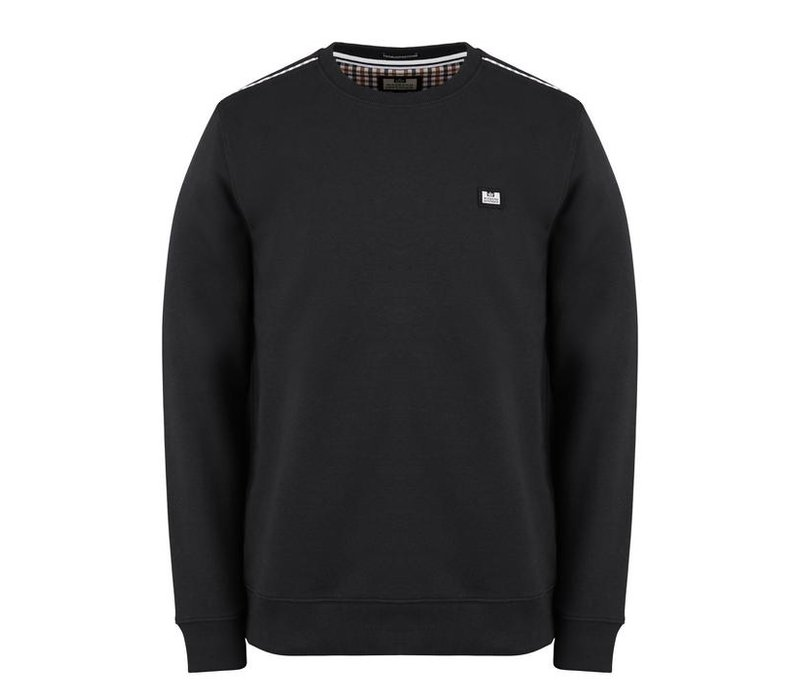 Weekend Offender Cooper sweatshirt Black