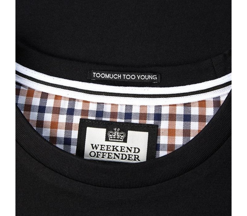 Weekend Offender Titanium t-shirt Black