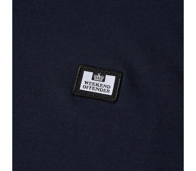 Weekend Offender Titanium t-shirt Navy