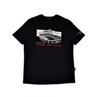Three Stroke Productions OldTown Stadium Project De Kuip Rotterdam t-shirt Black