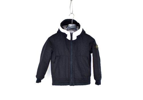 Stone Island Stone Island junior black reflective hood jacket age 8