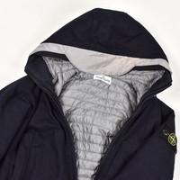 Stone Island junior black reflective hood jacket age 8