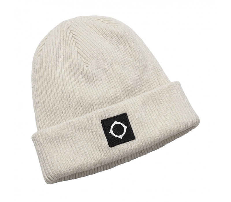 MA.STRUM icon watch cap Optic White