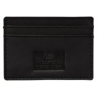 Weekend Offender leather card holder Black
