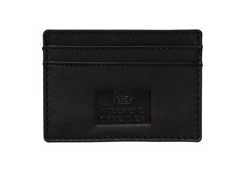 Weekend Offender Weekend Offender leather card holder Black