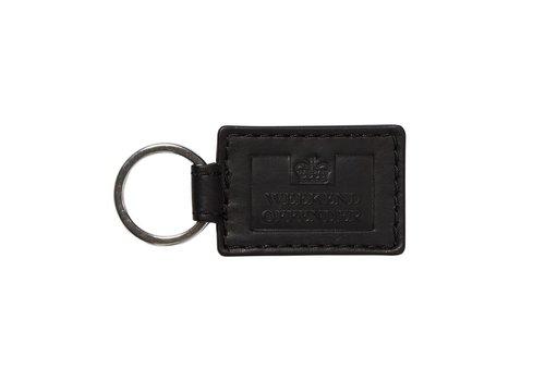 Weekend Offender Weekend Offender leather key ring Black