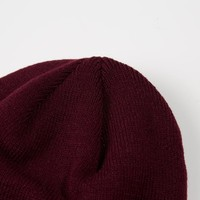 Weekend Offender Pedar knit beanie hat Burgundy