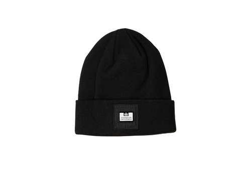 Weekend Offender Weekend Offender Pedar knit beanie hat Black