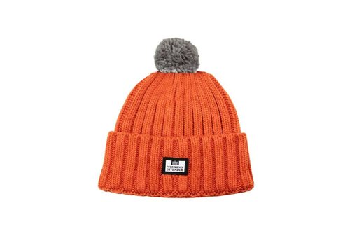 Weekend Offender Weekend Offender Gerdai knit bobble hat Burnt Orange