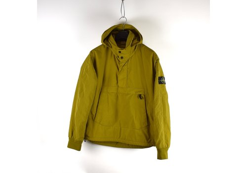 Stone Island Stone Island yellow reps nylon-r hooded anorak jacket XL
