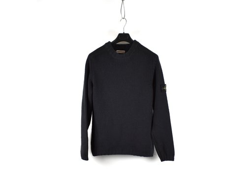 Stone Island Stone Island black wool crew neck knit XL