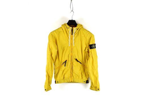 Stone Island Stone Island yellow membrana tc hooded jacket S
