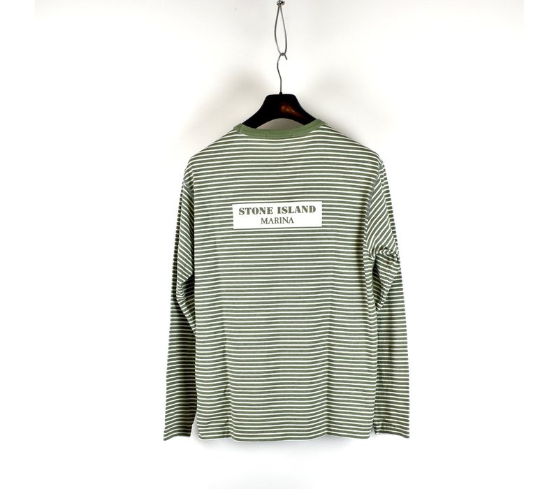 Stone Island Marina green long sleeve t-shirt