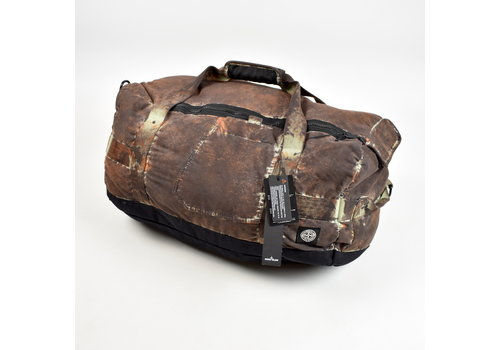 Stone Island Stone Island paintball camo cotton cordura travel bag
