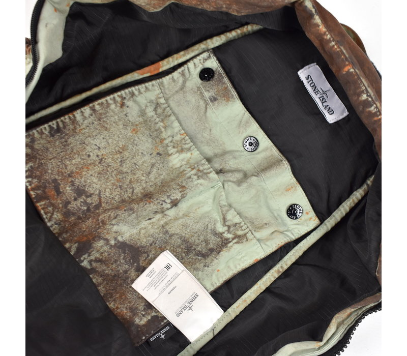 Stone Island paintball camo cotton cordura backpack