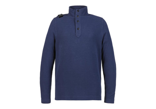 MA.STRUM MA.STRUM double-face funnel neck Dark Indigo