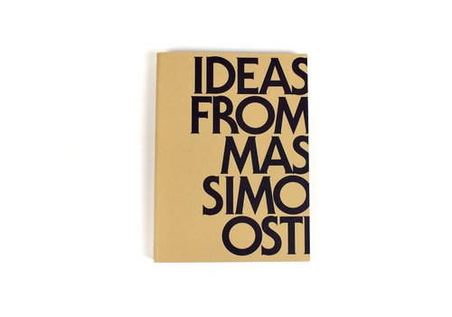 Massimo Osti Archive Ideas from Massimo Osti second edition boek *PRE-ORDER*