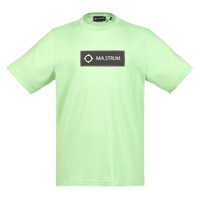 MA.STRUM icon box logo tee Mint Green