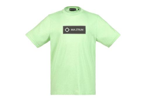 MA.STRUM MA.STRUM icon box logo tee Mint Green