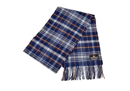King of Orange King of Orange lambswool tartan scarf
