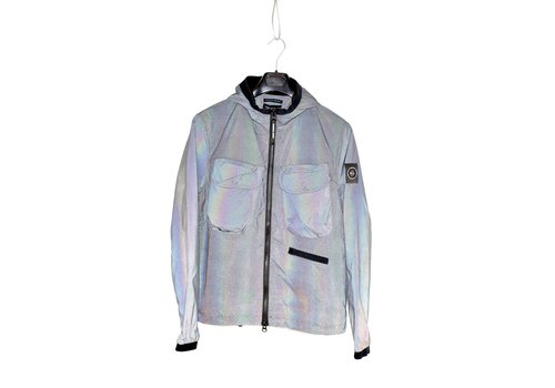 Marshall Artist Marshall Artist hooded reflective jacket Iridescent