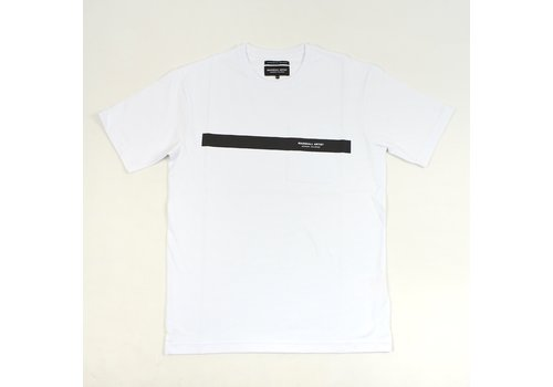Marshall Artist Marshall Artist Iridescent reflective ss t-shirt White