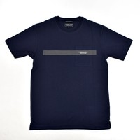 Marshall Artist Iridescent reflective ss t-shirt Navy
