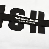 Marshall Artist hybrid tech reflective ss t-shirt White