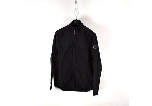 Marshall Artist Marshall Artist garment dyed parachute overshirt Black
