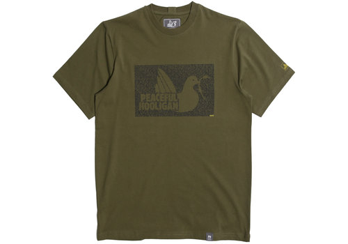 Peaceful Hooligan Peaceful Hooligan Justice t-shirt Olive