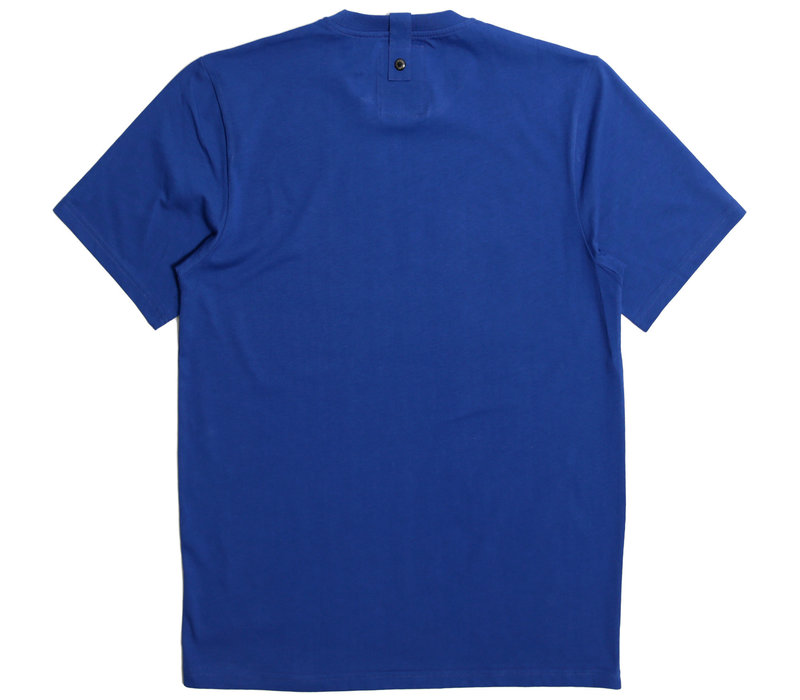 Peaceful Hooligan Justice t-shirt Bright Blue