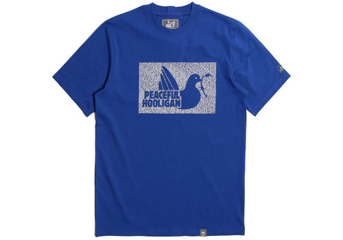 Peaceful Hooligan Peaceful Hooligan Justice t-shirt Bright Blue