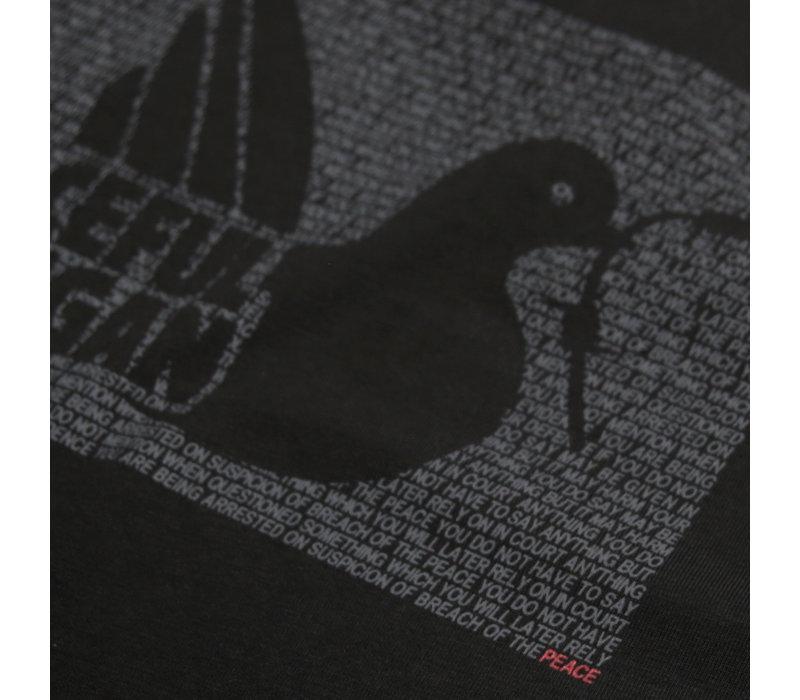 Peaceful Hooligan Justice t-shirt Black