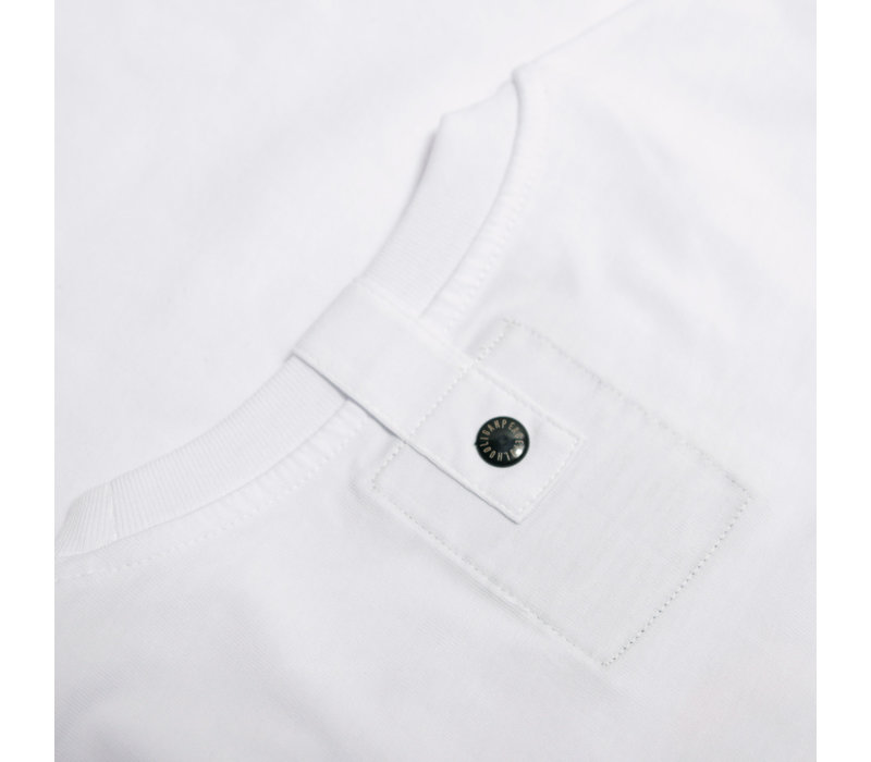 Peaceful Hooligan Outline t-shirt White