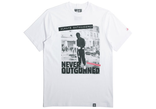 Peaceful Hooligan Peaceful Hooligan Outnumbered t-shirt White